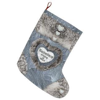 Calcetín Navideño Grande ¡Wildling en la media del corazón! ¡Añada el