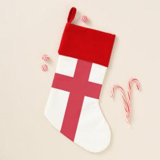 Calcetín Navideño Medias del navidad con la bandera de Inglaterra