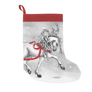 Calcetín Navideño Pequeño Almacenamiento de Belces de la nieve del navidad