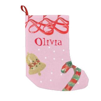 Calcetín Navideño Pequeño Almacenamiento del navidad de la cinta del país de