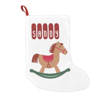 Calcetín Navideño Pequeño Almacenamiento personalizado del navidad