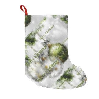 Calcetín Navideño Pequeño Felices Navidad y una Feliz Año Nuevo