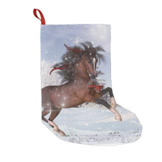 Calcetín Navideño Pequeño Media del caballo del día de fiesta del navidad
