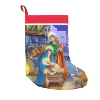 Calcetín Navideño Pequeño Media del día de fiesta de la natividad