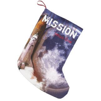 Calcetín Navideño Pequeño Misión Jesús uno