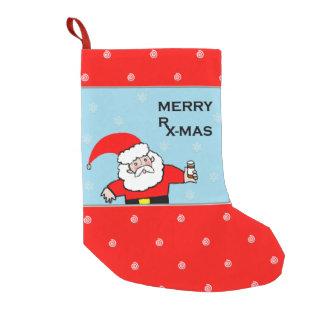 Calcetín Navideño Pequeño Navidad de la enfermera