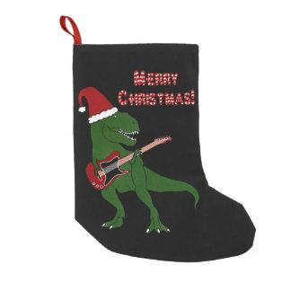 Calcetín Navideño Pequeño Navidad de la guitarra de T-Rex