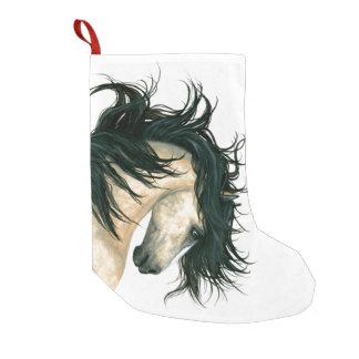 Calcetín Navideño Pequeño Navidad que almacena el caballo majestuoso Bihrle