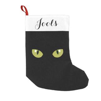 Calcetín Navideño Pequeño Ojos de gato