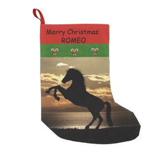 Calcetín Navideño Pequeño Para los caballos y los amantes del caballo