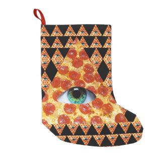Calcetín Navideño Pequeño Pizza de Illuminati
