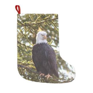 Calcetín Navideño Pequeño Uno de una media buena para ese amante de Eagle