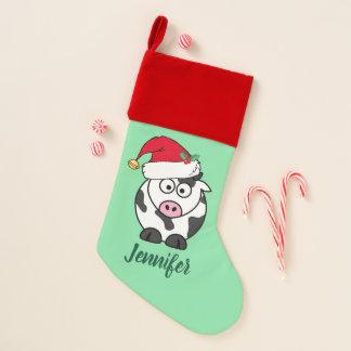 Calcetín Navideño Vaca linda del navidad