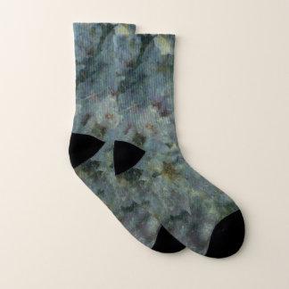 Calcetines azules suaves de la huerta