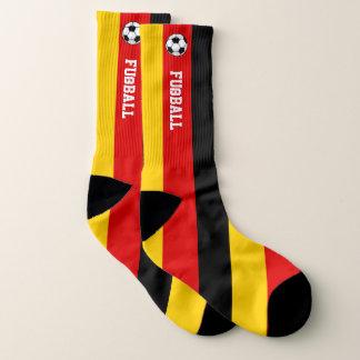 Calcetines Bandera Fußball de Alemania y su texto