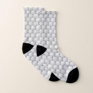 Calcetines blancos del diseño de las pelotas de