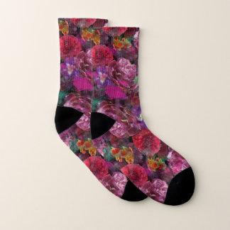 Calcetines ¡Calcetines florales destruidos vu de Déjà!