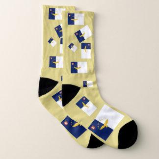 Calcetines de la diversión de la bandera de Azores