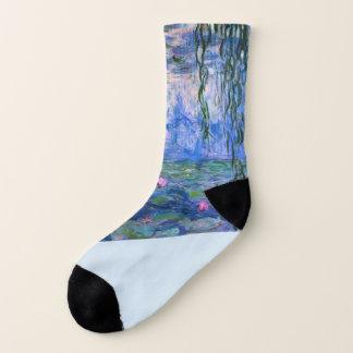 """Calcetines De los """"calcetines lirios de agua"""" de Monet"""