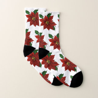 Calcetines del Poinsettia