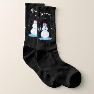 Calcetines Día de la nieve de Snowlady grande