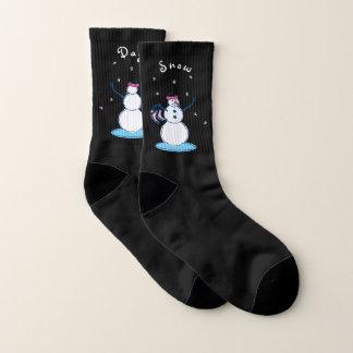Calcetines Día de la nieve de Snowlady pequeño