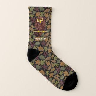Calcetines Dibujo animado del búho