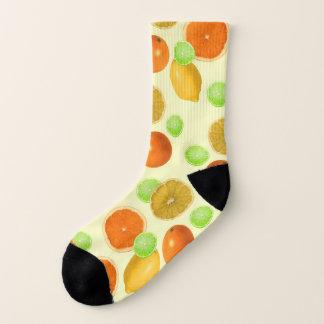 Calcetines Estallido de la fruta cítrica