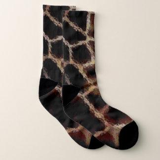 Calcetines Estampado de animales Brown