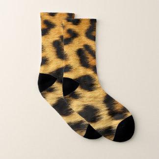 Calcetines Estampado de animales de la piel del leopardo