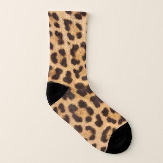 Calcetines Estampado de animales elegante del leopardo