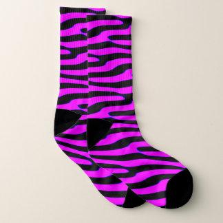 Calcetines Estampado de animales salvaje rosado descarado