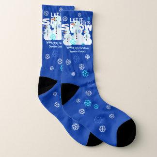 Calcetines feos del modelo del navidad de los