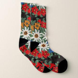 Calcetines Flor alpina suiza de Edelweiss