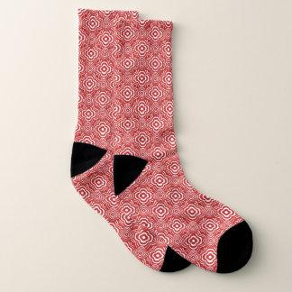 Calcetines Floración roja