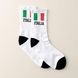 Calcetines La bandera italiana del orgullo de Italia