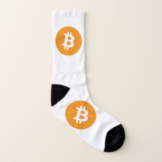Calcetines Logotipo de Bitcoin