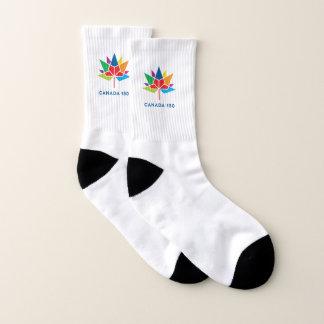 Calcetines Logotipo del funcionario de Canadá 150 -