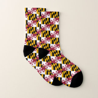 Calcetines Modelo de la bandera del estado de Maryland