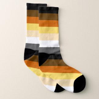 Calcetines Modelo de la raya de la bandera del orgullo del