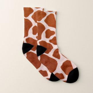 Calcetines Modelo del estampado de girafa