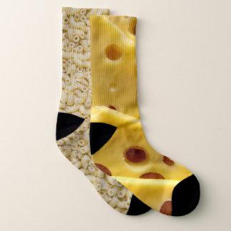 Calcetines Novedad divertida de los macarrones con queso