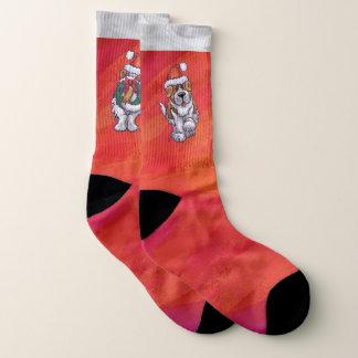 Calcetines Pies del navidad de St Bernard