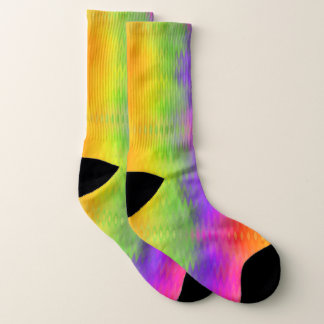 Calcetines vibrantes de la aurora