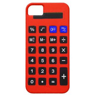 Calculadora anaranjada iPhone 5 Case-Mate carcasa