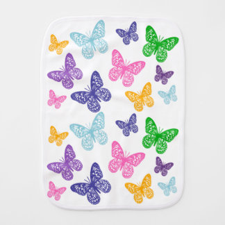 Caleidoscopio de mariposas - paño del Burp