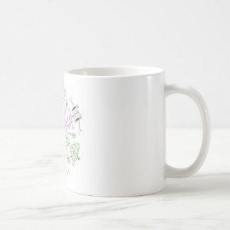 Caleidoscopio del café taza de café