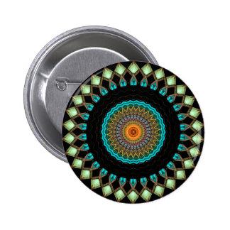 Caleidoscopio en el botón de Turkmenistán [edición