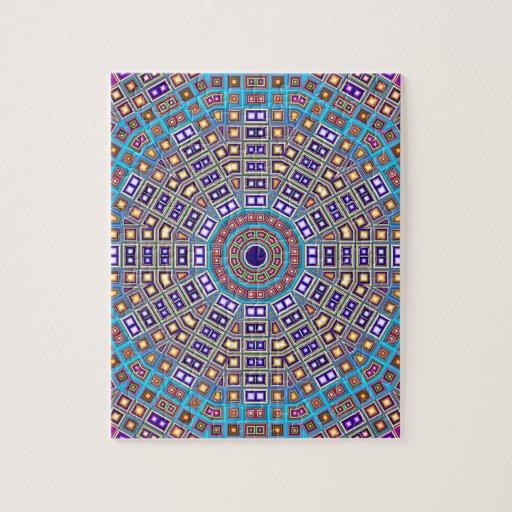 Caleidoscopio marroqu del mosaico puzzle con fotos zazzle for Mosaico marroqui