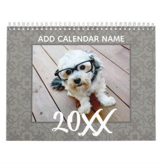 Calendario 14 foto - fotos de la página llena - modelo
